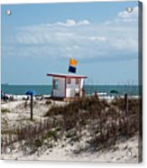 Jetty Park On Cape Canaveral In Florida Acrylic Print