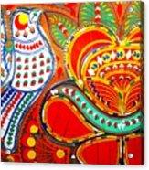 Jinga Bird Acrylic Print