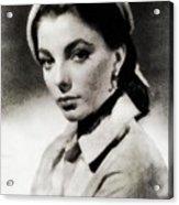 Joan Collins, Actress Acrylic Print