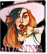 Joanne Acrylic Print