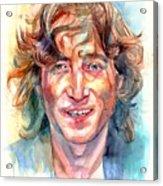 John Lennon Portrait Acrylic Print
