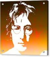 John Lennon The Legend Acrylic Print