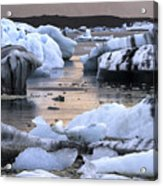 Jokulsarlon Glacier Lagoon Iceland 2050 Acrylic Print