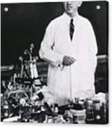 Jonas E. Salk 1914-1995, American Acrylic Print