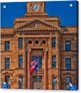 Jones County Courthouse Acrylic Print