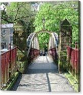 Jubilee Bridge - Matlock Bath Acrylic Print