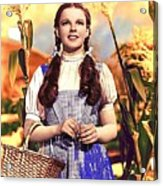 Judy Garland As Dorothy In The Wizard Of Oz Eric Carpenter Photo 1938-2014 Acrylic Print