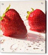 Juicy Strawberries Acrylic Print