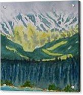 Juneau Landscape Acrylic Print