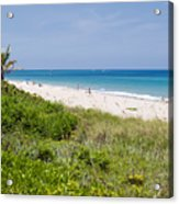 Juno Beach In Florida Acrylic Print