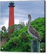 jupiter Inlet Lighthouse Acrylic Print