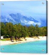 Kailua Beach Hawaii Acrylic Print