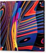 Kaleido-fa-callig. 10x11m37 Wide 11i Acrylic Print
