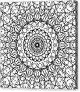 Kaleidoscope 706 Acrylic Print