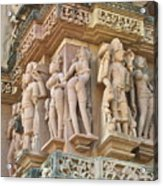 Kama Sutra Temple Acrylic Print