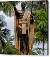 Kamehameha The Great Acrylic Print