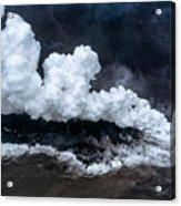 Kapoho Ocean Entry Acrylic Print