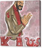Kappa Alpha Psi Fraternity Inc Acrylic Print by Tu-Kwon Thomas