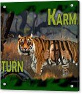 Karmas Return Acrylic Print