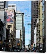 Karney Street San Francisco  Acrylic Print