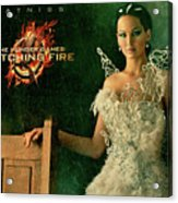 Katniss Hunger Games Catching Fire Acrylic Print