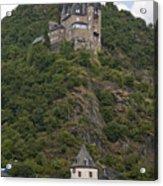 Katz Castle, Loreleystadt Acrylic Print