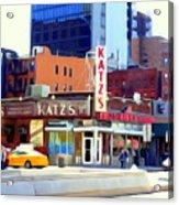 Katz's Delicatessan Acrylic Print