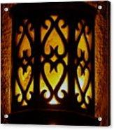 Keep The Porch Light On For Oscar Acrylic Print