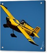 Kent Jackson In Once More, Friday Morning. 5x7 Aspect Signature Edition  Acrylic Print