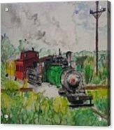 Kettle Moraine Train Acrylic Print