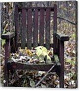 Keven's Chair Acrylic Print