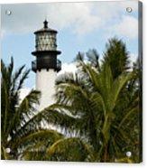 Key Biscayne Lighthouse, Florida Acrylic Print