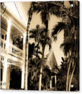 Key West House Acrylic Print