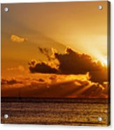 Key West Sunrise 21 Acrylic Print