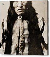 Kicking Bear Indian Chief Acrylic Print