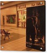 King Kong Remake Poster Mall Casa Grande Arizona Christmas 2005 Acrylic Print