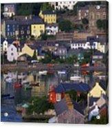 Kinsale, Co Cork, Ireland Boats And Acrylic Print