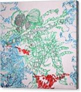 Kintu And Nambi Loves Puzzle Acrylic Print
