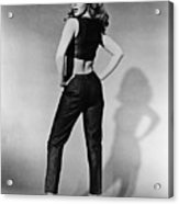 Kitten With A Whip, Ann-margret, 1964 Acrylic Print