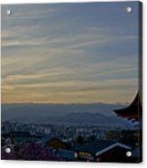 Kiyomizu-dera Acrylic Print