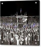 Kkk Services Capital Horse Show Grounds National Photo Co Arlington Virginia August 9 1925-2014 Acrylic Print
