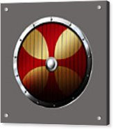 Knights Templar Shield Acrylic Print