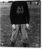 Knute Rockne, University Of Notre Dame Acrylic Print by Everett