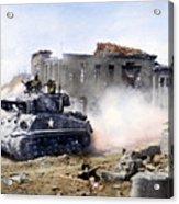 Korean War: Tank, 1951 Acrylic Print