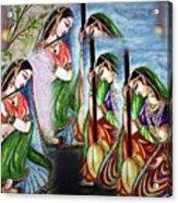 Krishna Prayer  Acrylic Print
