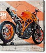 Ktm 1290 Super Duke R Acrylic Print