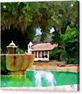 La Purisima Acrylic Print by Patricia Stalter