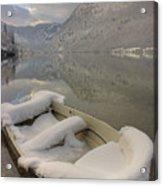 Lake Bohinj In Winter Acrylic Print