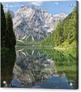 Lake Braies Acrylic Print