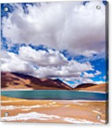 Lake Meniques In Chile Acrylic Print
